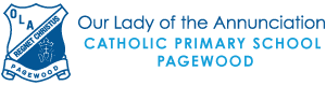 Our Lady of Annunciation Catholic Primary School Pagewood Logo
